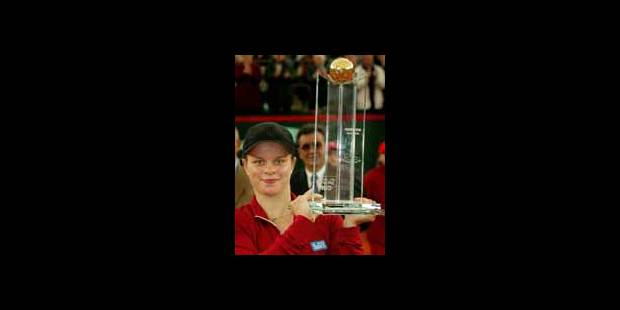 WTA Hambourg - Victoire de Kim Clijsters  !