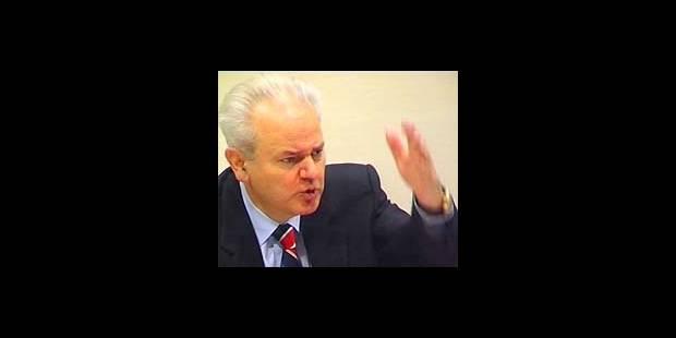 Milosevic dénonce un océan de mensonges - La DH
