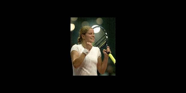 Kim Clijsters remporte le tournoi de Leipzig