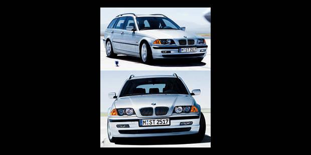 Les cotes de la DH - BMW 330xi Touring - La DH