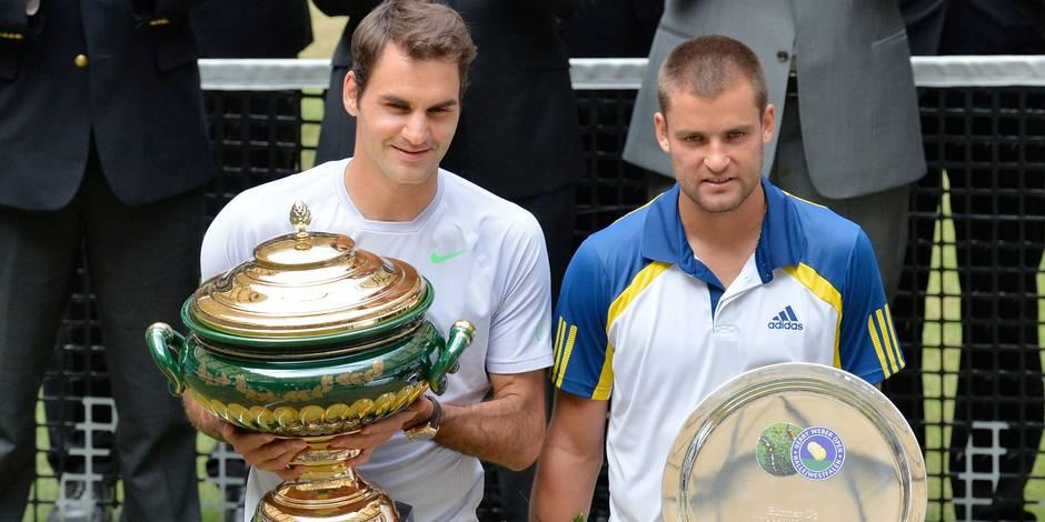 Federer remporte son premier tournoi en 2013 à Halle