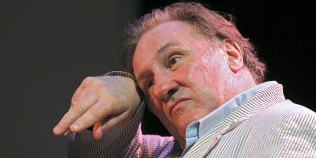 Gérard Depardieu victime d'un accident de la route à Moscou - La DH