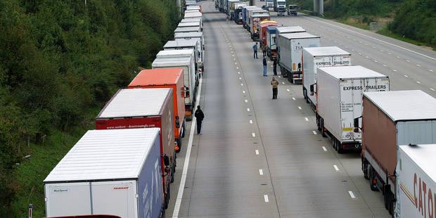 La Région wallonne espère 200 millions d'euros par an via la taxe poids lourds - La DH