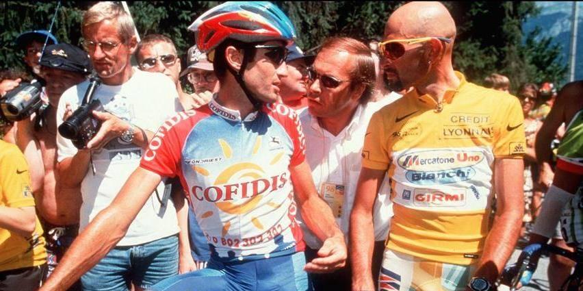 1998 plane sur le centième Tour de France
