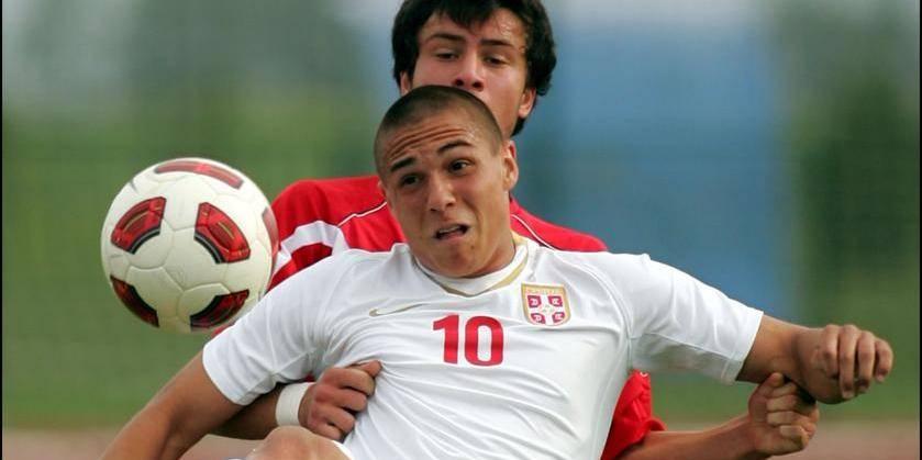 Serbia-Georgia international friendly U19 match men's football