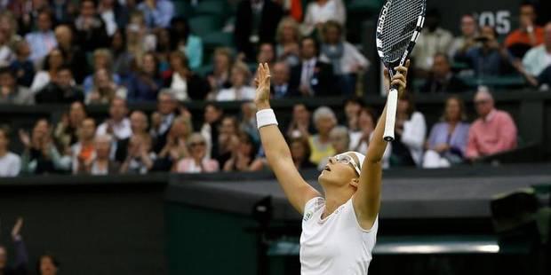 Wimbledon: Flipkens prolonge le rêve et va en demi ! - La DH