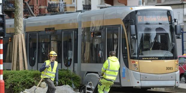 Une ligne de tram reliera à terme Ixelles et l'actuelle ligne 71 à Tour et Taxis - La DH
