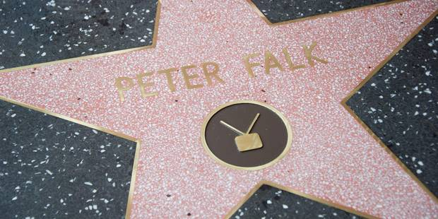 Peter Falk, alias Columbo, a son étoile à Hollywood - La DH
