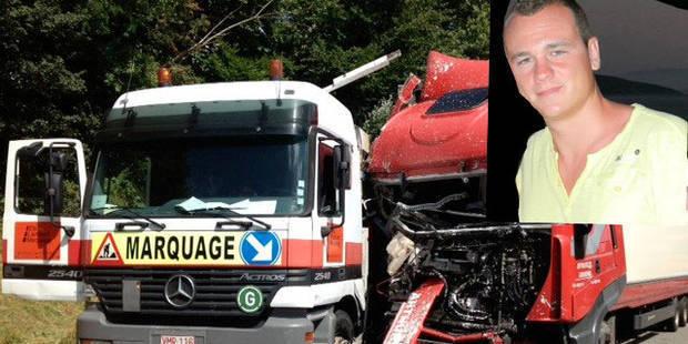 """Le chauffeur poids lourds qui a tué un ouvrier sur la E42: """"J'aurais préféré mourir à sa place"""" - La DH"""