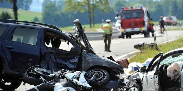 La Belgique connaît de moins en moins d'accidents de la route - La DH
