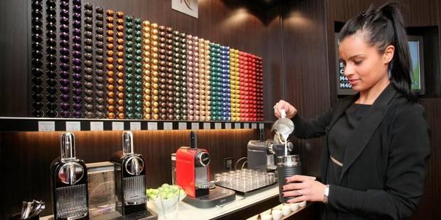 """Nespresso ne craint pas la concurrence"""