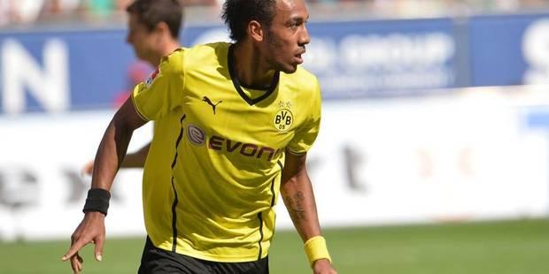 Dortmund brille grâce à un triplé d'Aubameyang - La DH