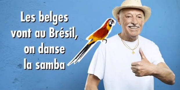 Découvrez le nouveau tube du Grand Jojo pour soutenir les Diables au Brésil - La DH