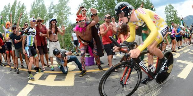 Tour du Colorado: Van Garderen accroît son avance - La DH