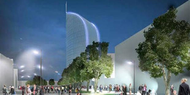 Va-t-on devoir démolir la tour des finances à Liège ? - La DH