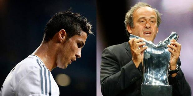 Cristiano Ronaldo fâche Platini - La DH