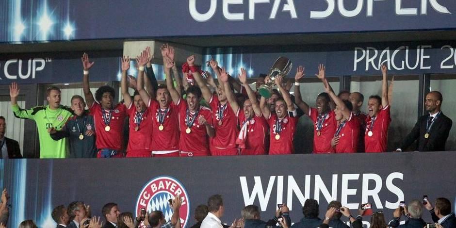 Le Bayern remporte la Supercoupe aux tirs au but (2-2, 5-4 tàb)
