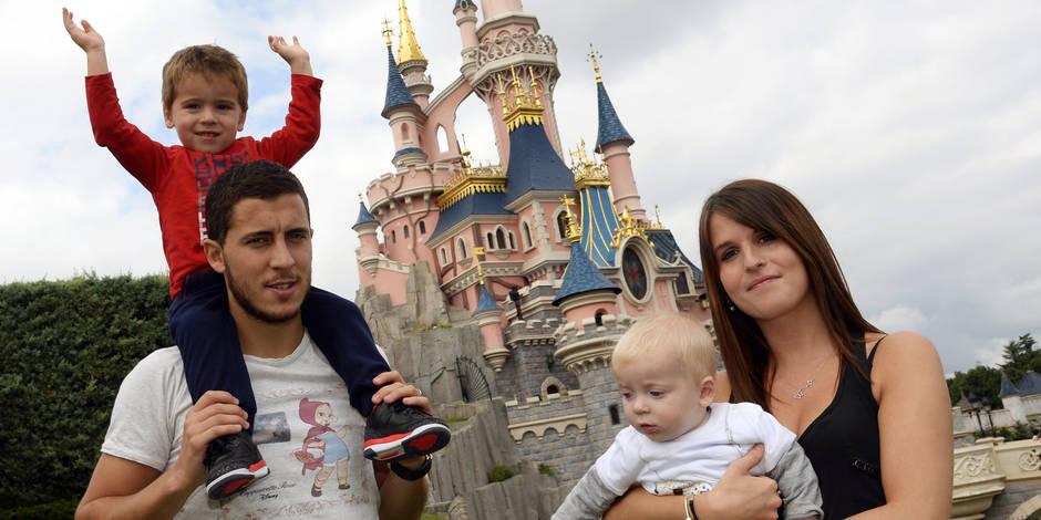 Les photos d'Eden Hazard en famille à Disneyland Paris!