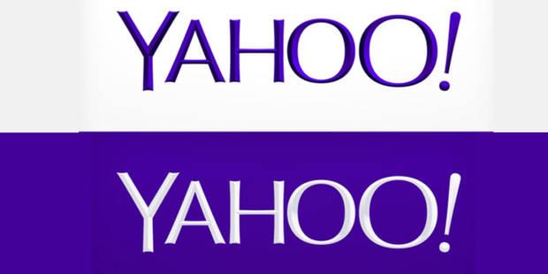 Le logo Yahoo! s'amincit mais garde son point d'exclamation - La DH