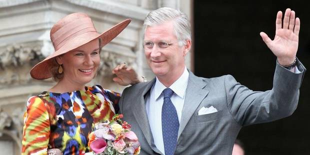 Louvain: 1.500 personnes pour accueillir Philippe et Mathilde