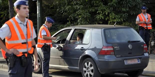 La police tire sur un chauffard dans le Tournaisis - La DH
