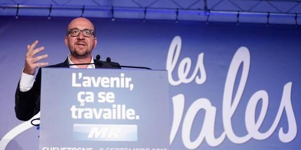 """Charles Michel d�nonce les """"promesses en l'air"""" de la majorit�"""