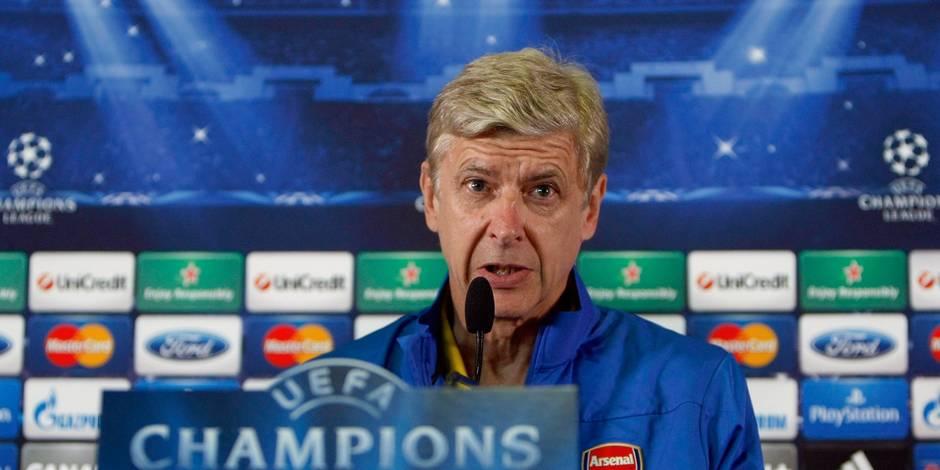 """Wenger a hérité du """"groupe le plus dur"""""""