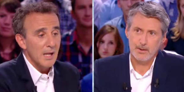 Elie Semoun sort de ses gonds au Grand Journal - DH.be