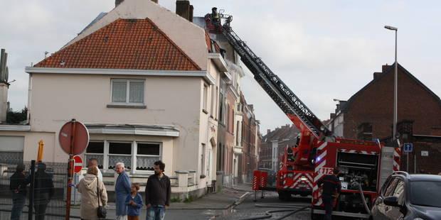 Maison en feu à Tournai: une victime carbonisée - La DH