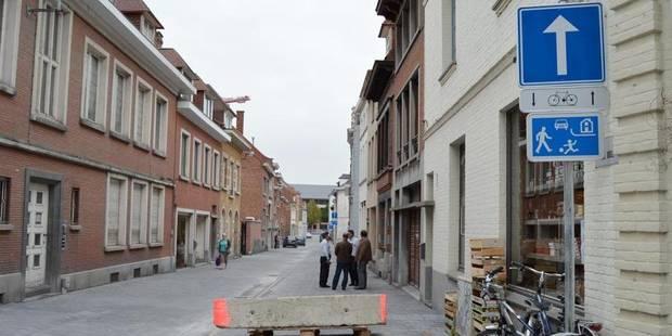 La rue Dame Odile à nouveau ouverte - La DH