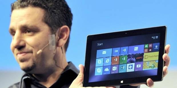 Microsoft croit encore à sa tablette - La DH