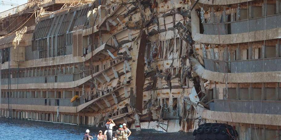 Concordia: les restes humains d'un des deux disparus retrouvés