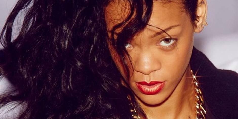 Rihanna souffre pour son tatouage