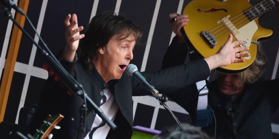Concert surprise de Paul McCartney à New York