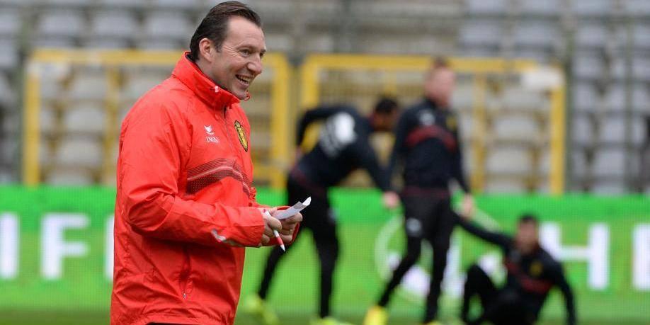 """Wilmots: """"Je suis content que Bale soit absent"""""""