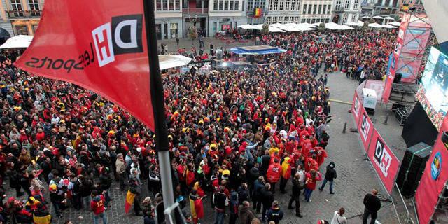 Plus de 25000 personnes devant nos écrans géants DH !