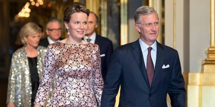 Le roi Philippe et la reine Mathilde font leur entrée à Arlon