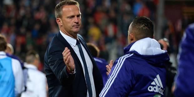 """van den Brom: """"Dur de mettre Gillet sur le banc"""" - La DH"""