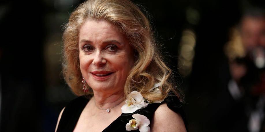 """Catherine Deneuve,le """"visage"""" du cinéma français, fête ses 70 ans"""