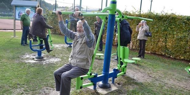 La ville inaugure le fitness pour seniors