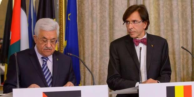 M. Di Rupo dénonce la politique de colonisation menée par Israël dans les territoires - La DH