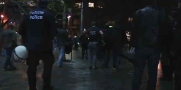 La vid�o des hooligans interpell�s avant Anderlecht-PSG