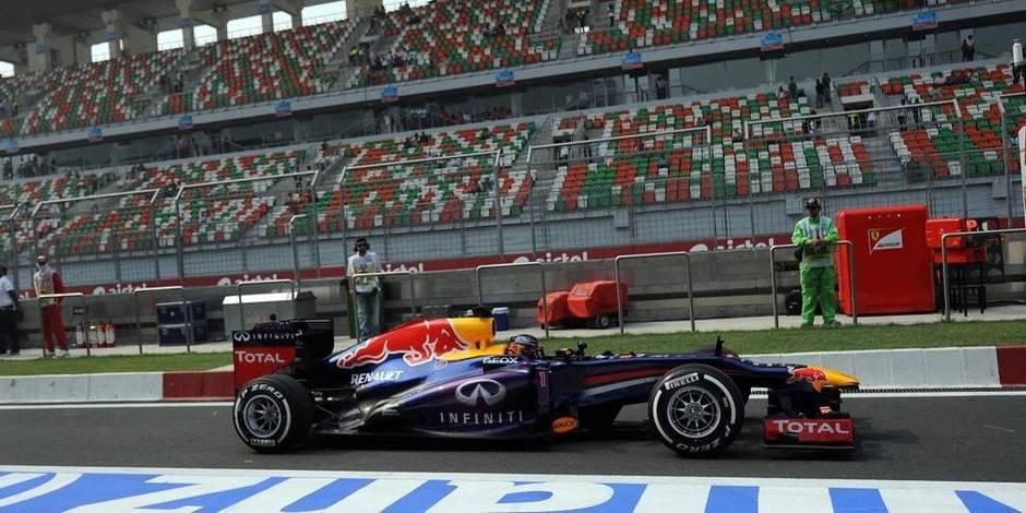 Vettel vraiment seul au monde