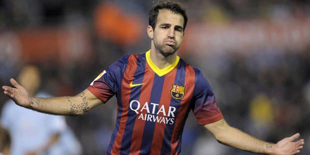 Fabregas et le Barça domptent le Celta Vigo - La DH