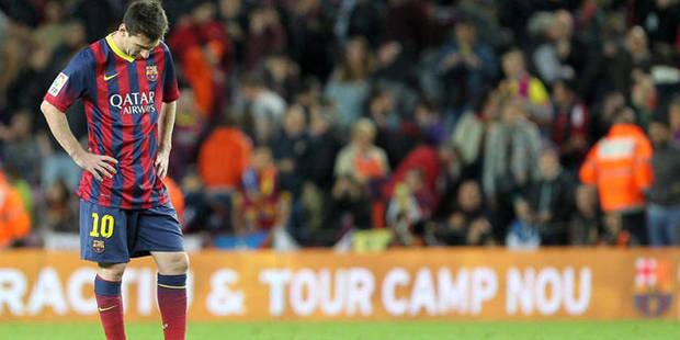 Des supporters du Barça réclament le départ de... Lionel Messi - La DH