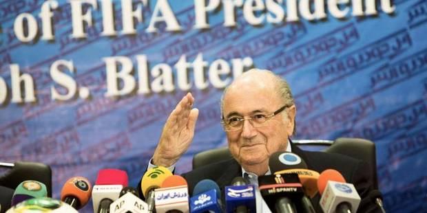 """Un Mondial à 40 équipes? """"Et pourquoi pas à 128"""", ironise Blatter - La DH"""