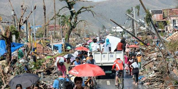 Typhon aux Philippines: Une centaine de Belges restent injoignables - La DH