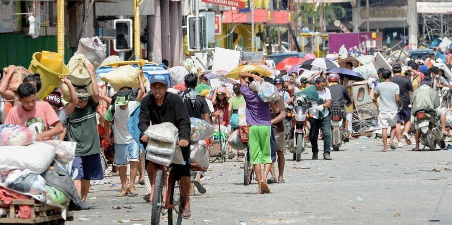 Typhon aux Philippines: La Croix-Rouge appelle à l'aide