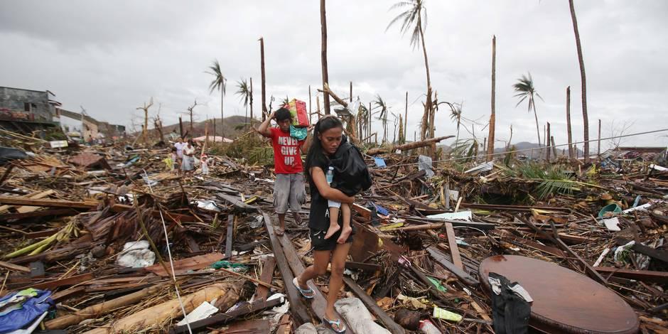 Typhon Haiyan: toujours aucune nouvelle d'une centaine de Belges