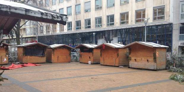 Le village de Noël de Charleroi prend un nouveau départ - La DH
